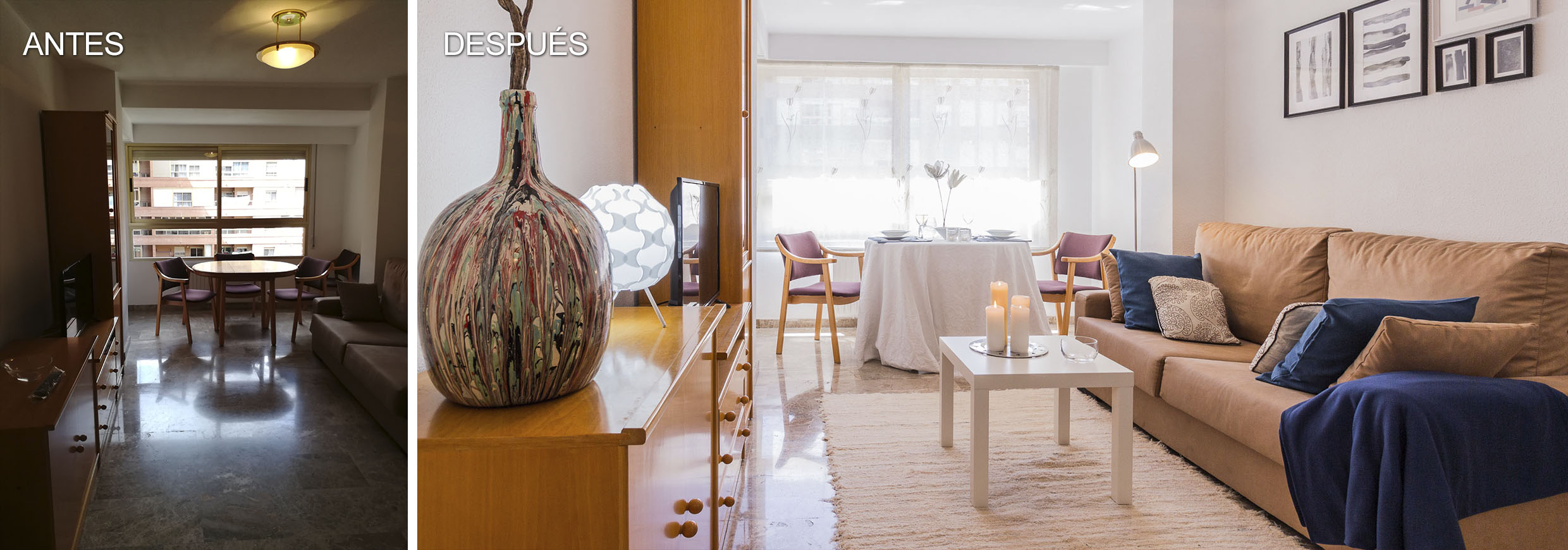 Home Staging Piso en Valencia